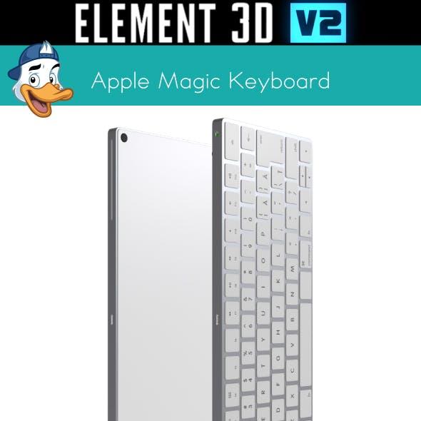 Apple Magic Keyboard for Element 3D