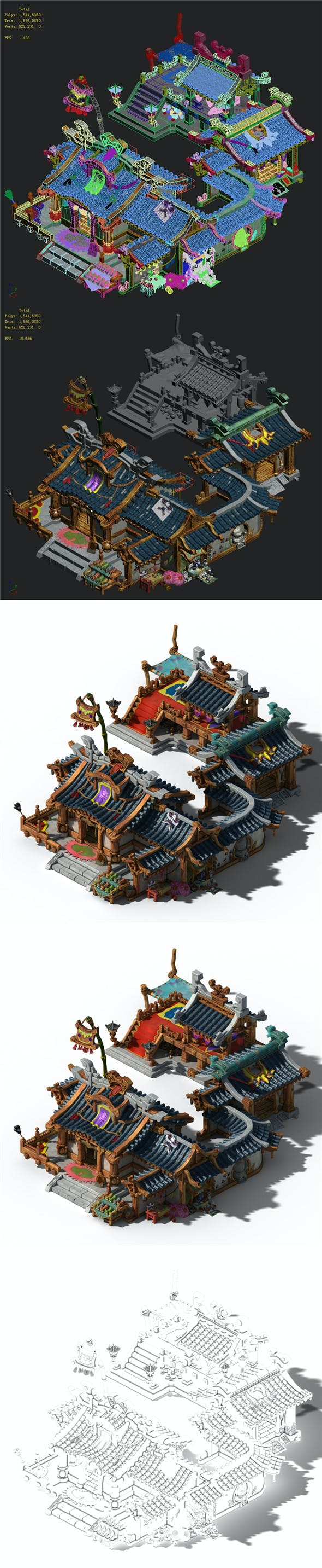 Lin an City - grocery store - 3DOcean Item for Sale
