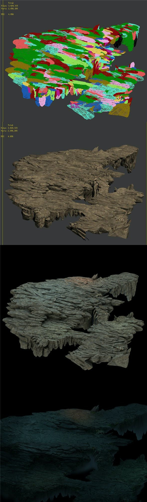Nibelungen - Terrain 01 - 3DOcean Item for Sale