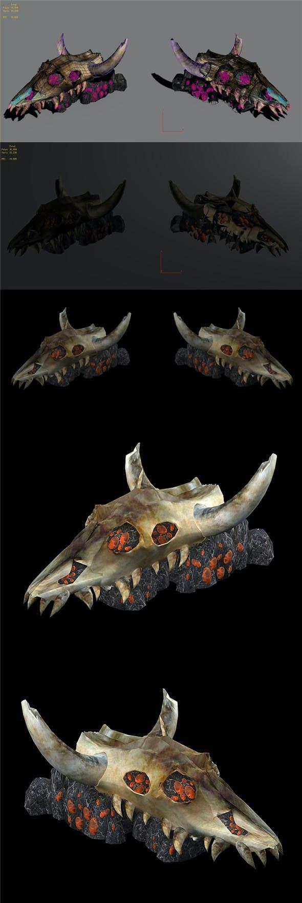 Bulls - Monster Nest 04 - 3DOcean Item for Sale