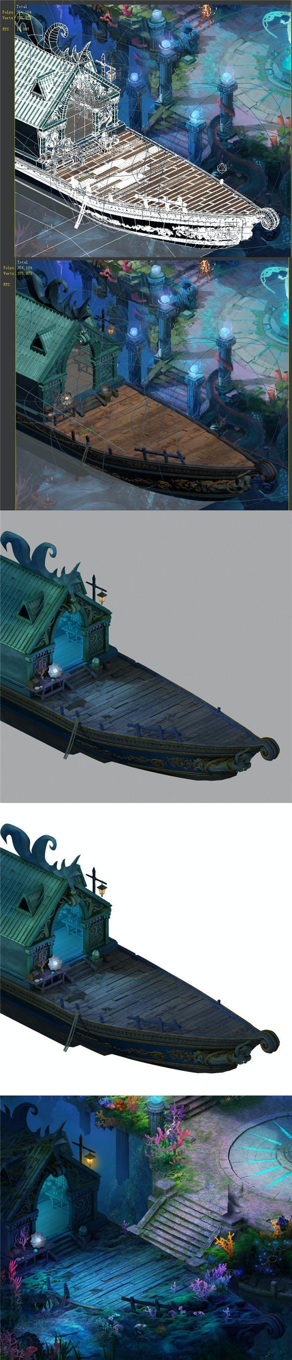 Endless sea - shop ship - 3DOcean Item for Sale