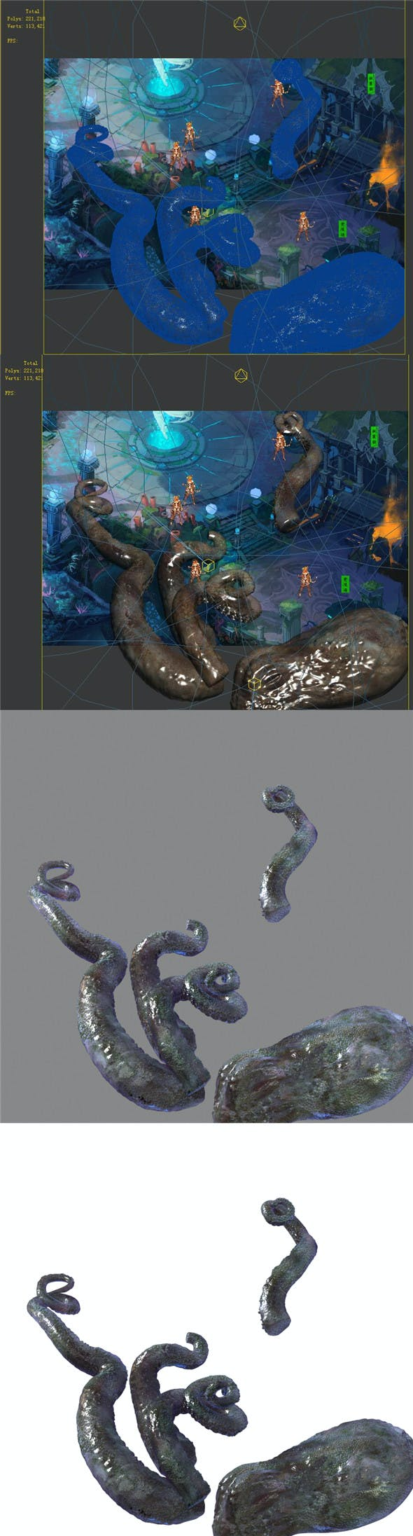 Endless sea - octopus - 3DOcean Item for Sale