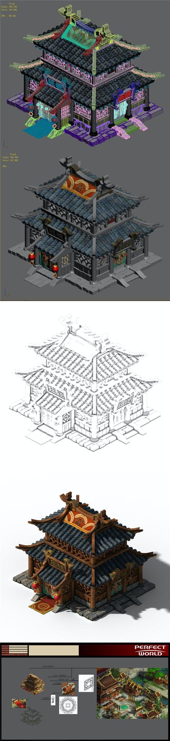 Xiangyang City - Bank 01 - 3DOcean Item for Sale
