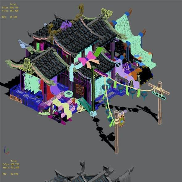 Xiangyang City - dyeing shop 01