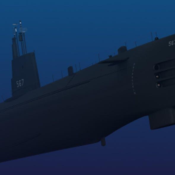 USS Gudgeon SS 567