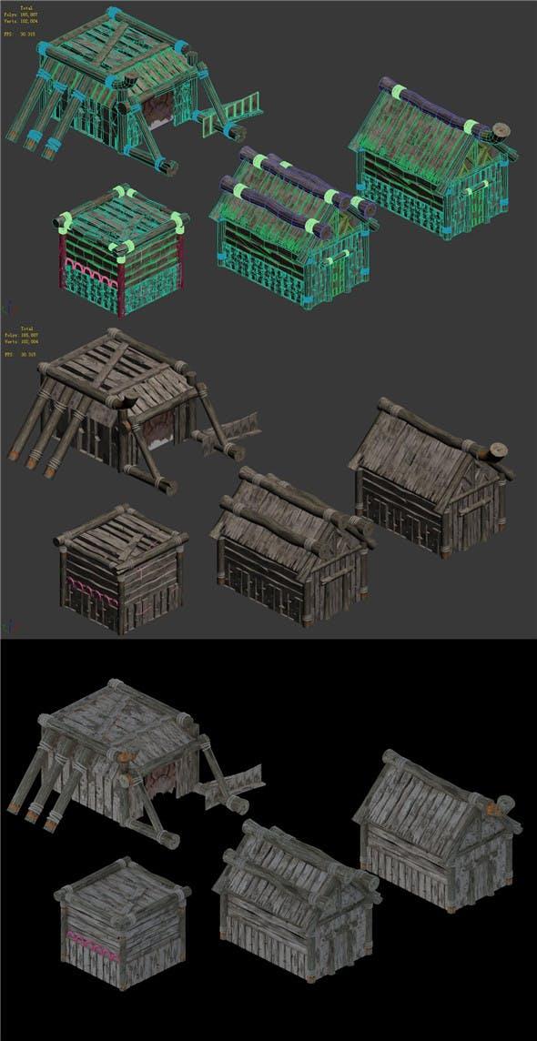 Trainer Building 03 - 3DOcean Item for Sale