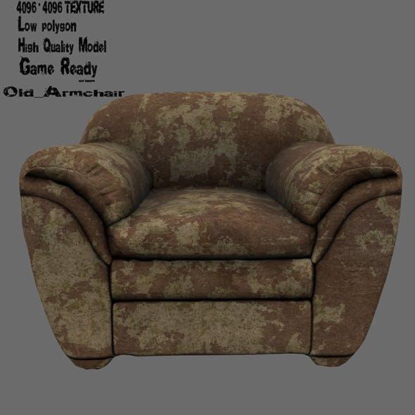 Armchair 11 - 3DOcean Item for Sale