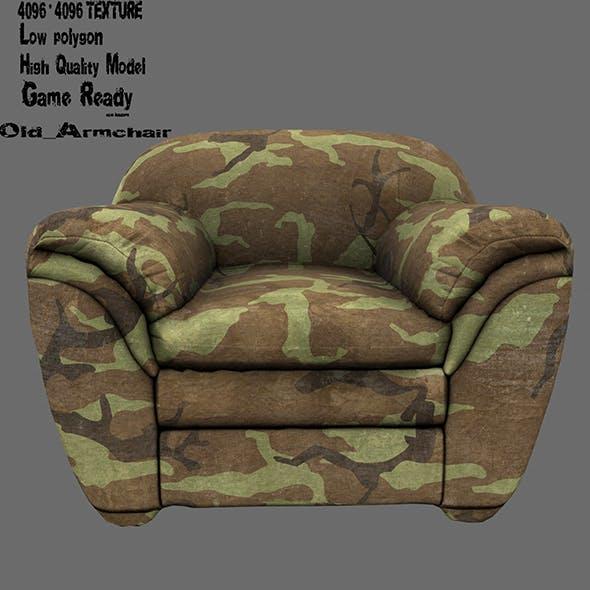 Armchair 12 - 3DOcean Item for Sale