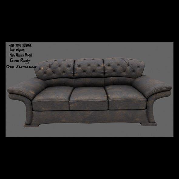 Armchair 16 - 3DOcean Item for Sale