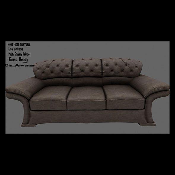 Armchair 18 - 3DOcean Item for Sale