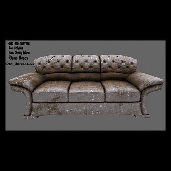 Armchair 21 - 3DOcean Item for Sale
