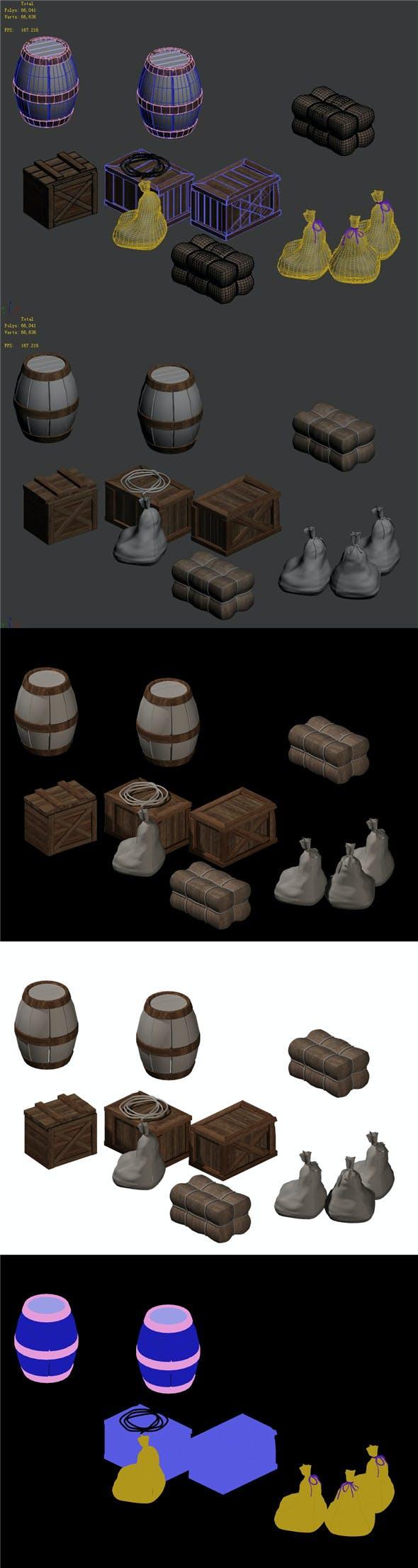 Forgotten tribe - debris - 3DOcean Item for Sale