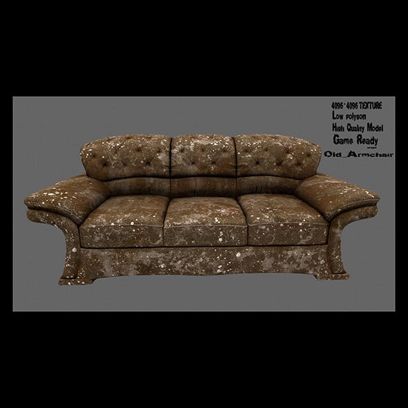 Armchair_23 - 3DOcean Item for Sale