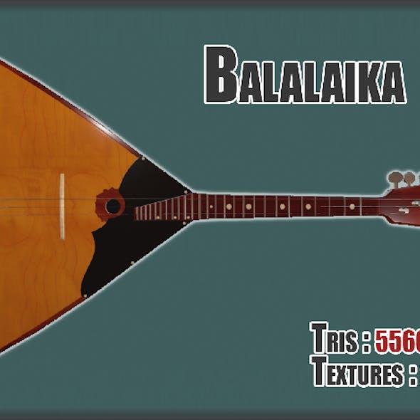 Balalaika PBR textures model