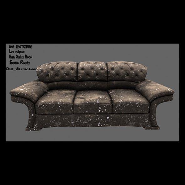 Armchair_02 - 3DOcean Item for Sale