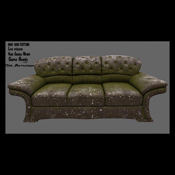 Armchair_05 - 3DOcean Item for Sale
