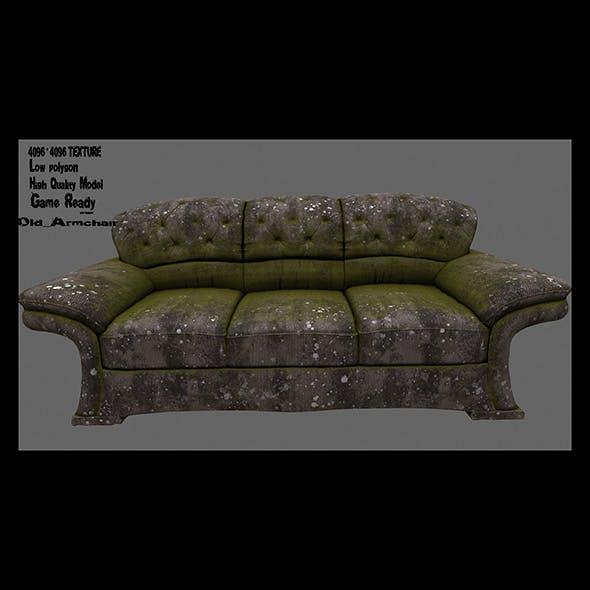 Armchair_06 - 3DOcean Item for Sale