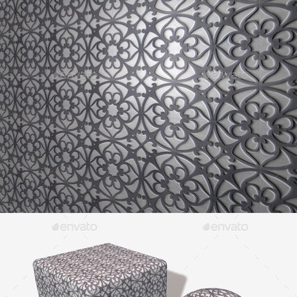 Patterned Metal Seamless Texture