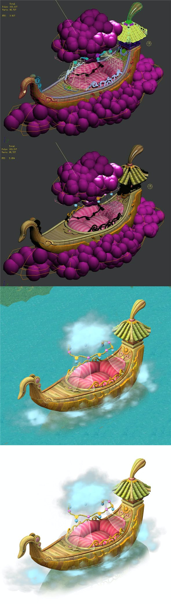 Cartoon Sky City - Once upon a time - 3DOcean Item for Sale