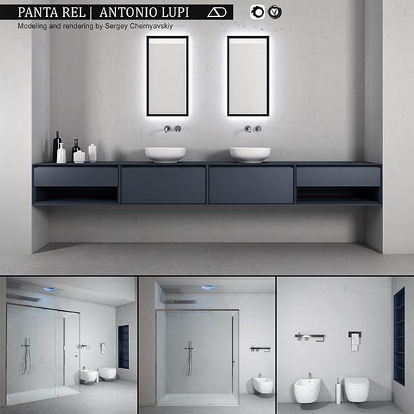 Bathroom furniture set Panta Rel 2