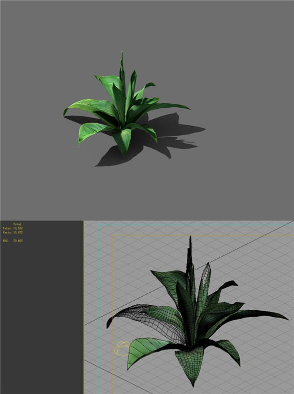 Game Models - Forest - Shrubs 02 - 3DOcean Item for Sale