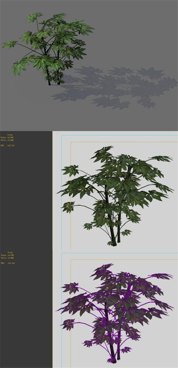 Game Models - Forest - Shrubs 03 - 3DOcean Item for Sale