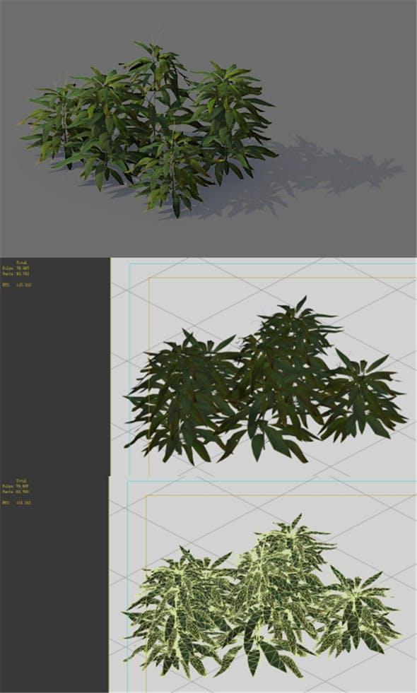 Game Model - Forest - Shrubs 04 - 3DOcean Item for Sale