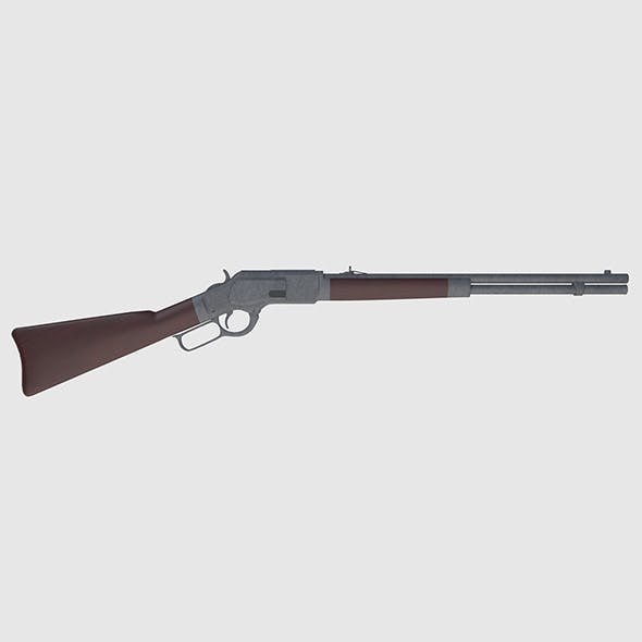 Winchester Rifle - Game Ready
