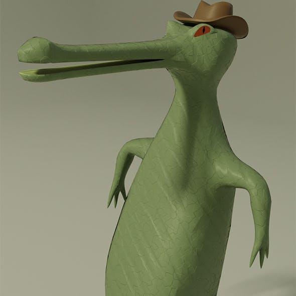 Bold gavial - 3DOcean Item for Sale
