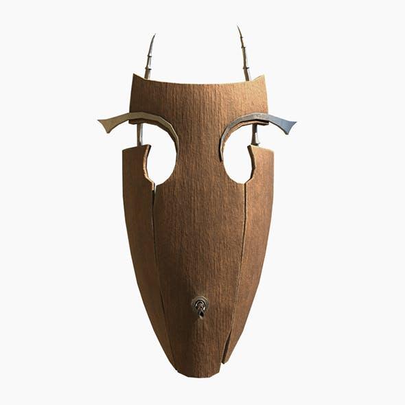 Old vampire's mask