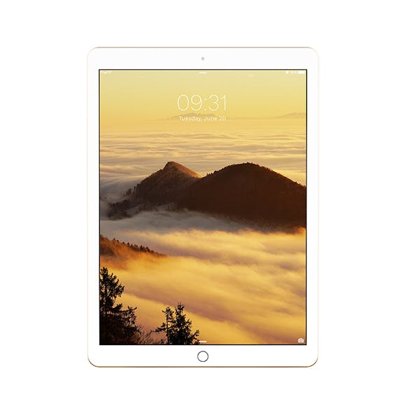 iPad Pro 12.9 Gold - 3DOcean Item for Sale