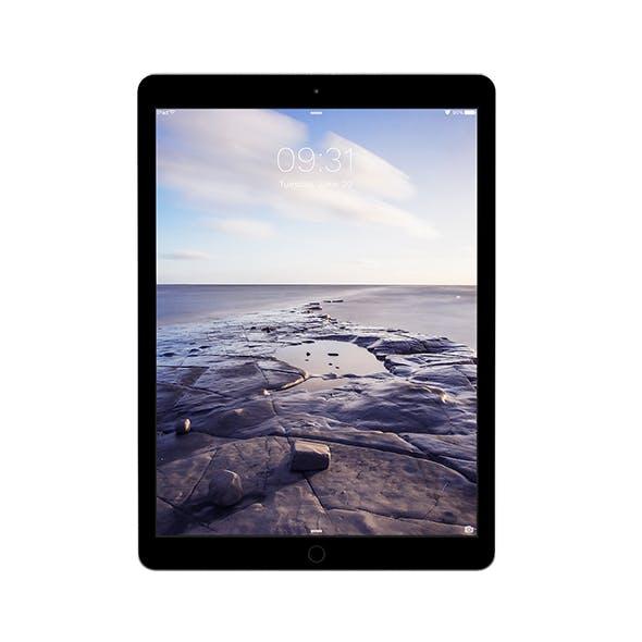 iPad Pro 12.9 Dark Grey - 3DOcean Item for Sale