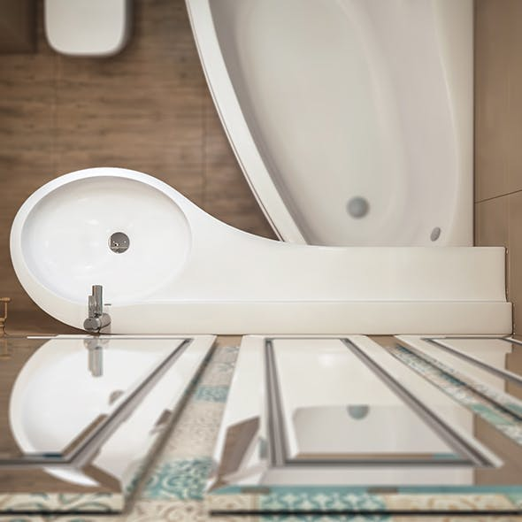 sink Bonito - 3DOcean Item for Sale