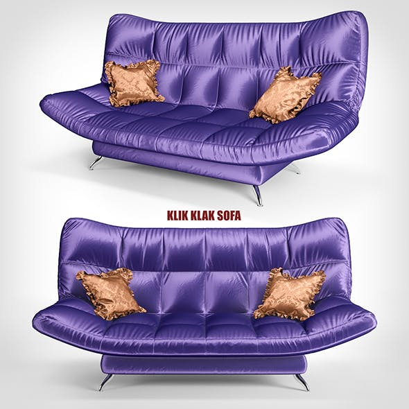 sofa KLIK KLAK 1 - 3DOcean Item for Sale