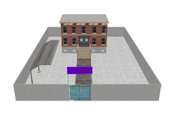 Police Station Model - 3DOcean Item for Sale