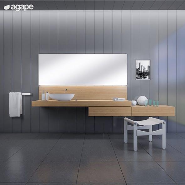 washbasin Agape DROP - 3DOcean Item for Sale