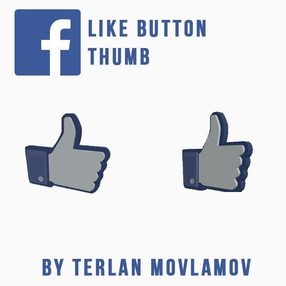 Facebook Like Button - FB Thumb