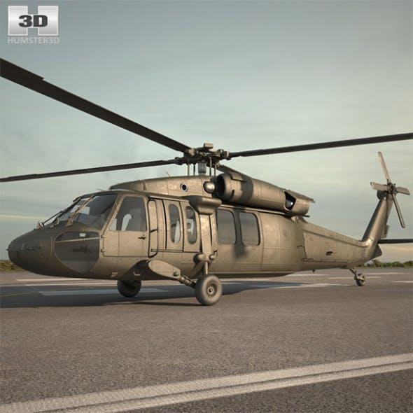 Sikorsky UH-60 Black Hawk - 3DOcean Item for Sale
