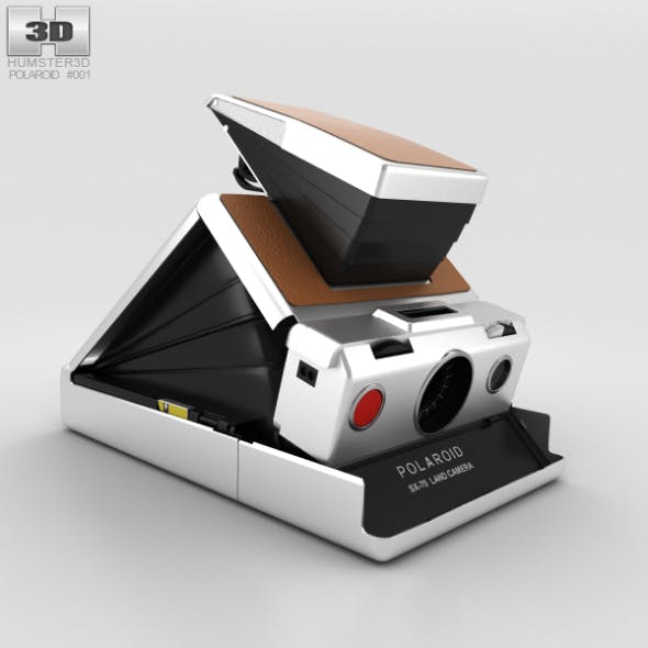 Polaroid SX-70 - 3DOcean Item for Sale