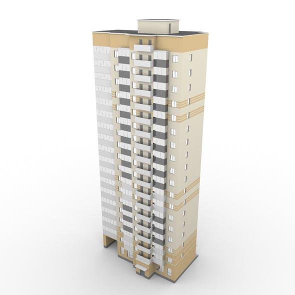 Residential Building 001 - 3DOcean Item for Sale