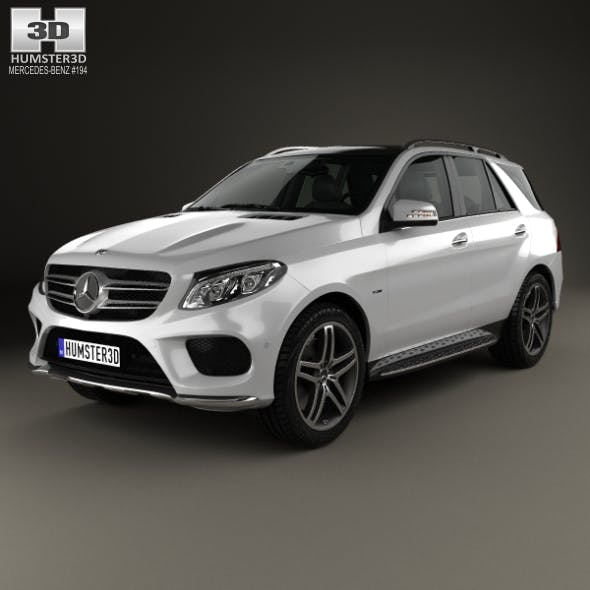 Mercedes-Benz GLE-Class (W166) AMG Line 2014 - 3DOcean Item for Sale