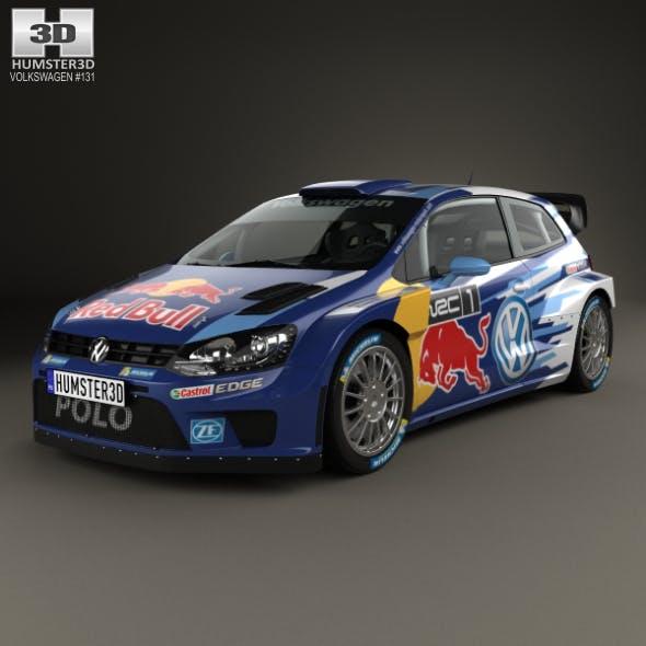 Volkswagen Polo R WRC Racecar 2015 - 3DOcean Item for Sale