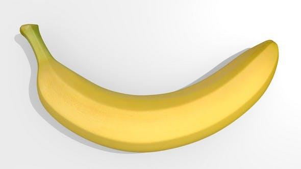 3D model of banana - 3DOcean Item for Sale