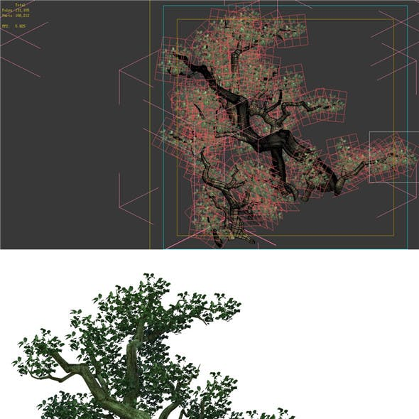 Game Model - Forest - Tree 04