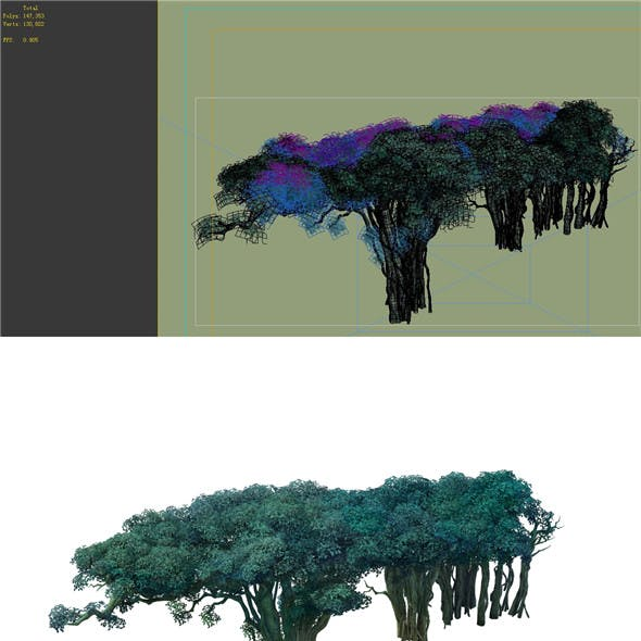 Game Model - Forest - Tree 12