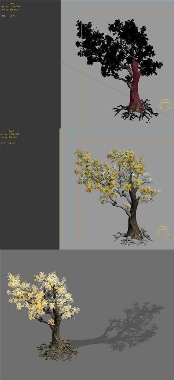 Game Models - Forest - Trees 05 - 3DOcean Item for Sale