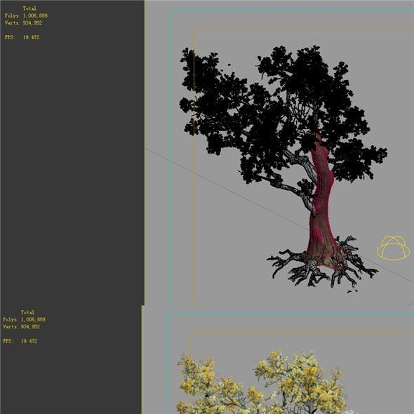 Game Models - Forest - Trees 05
