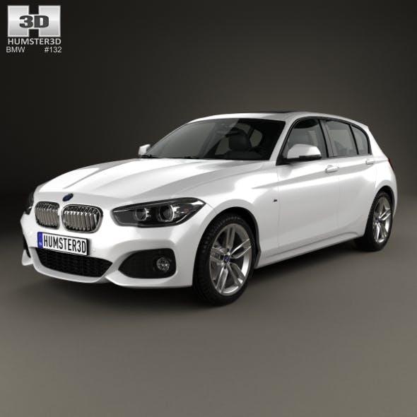 BMW 1 Series (F20) 5-door M Sport Package 2015 - 3DOcean Item for Sale