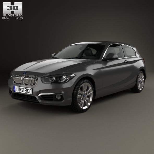 BMW 1 Series (F21) 3-door Urban Line 2015 - 3DOcean Item for Sale