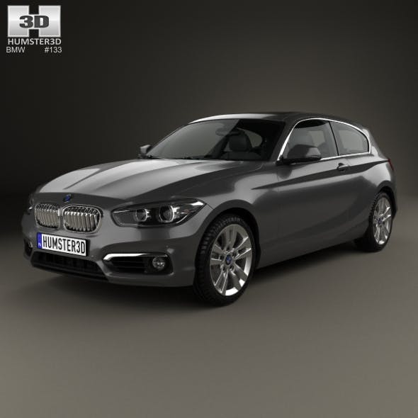 BMW 1 Series (F21) 3-door Urban Line 2015